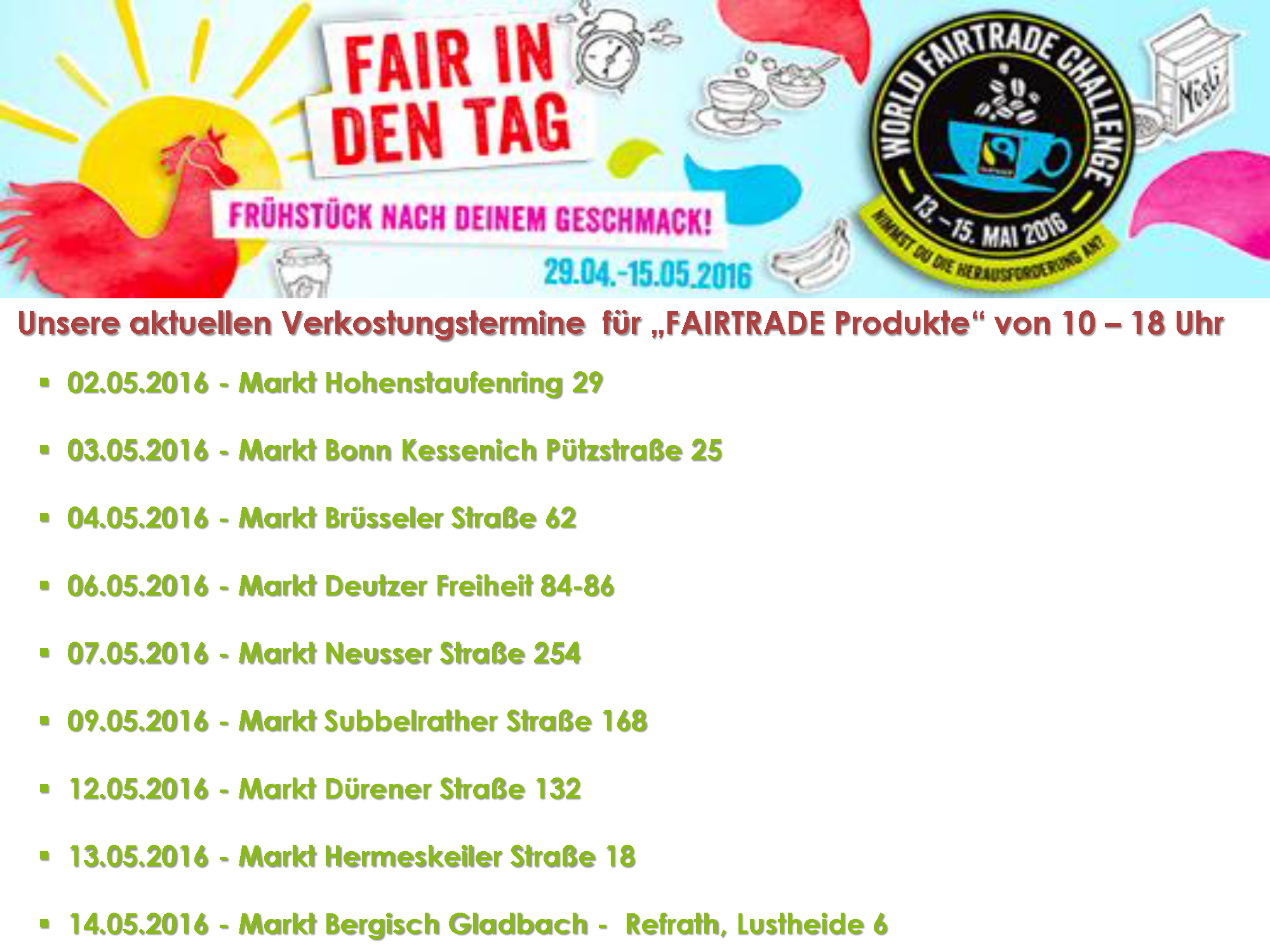 FAIRTRADE Mai 2016